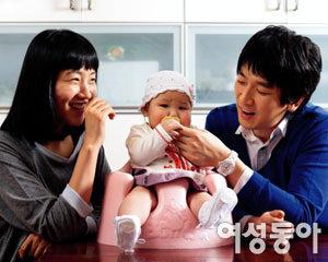 탤런트 박형재·채자연 부부