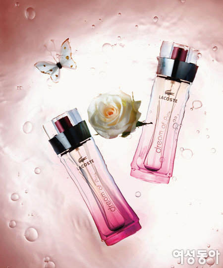 경쾌하고 발랄한 꽃내음~ 라코스테 드림 오브 핑크