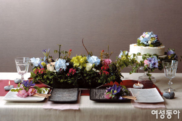 3 Style, Flower Table Deco