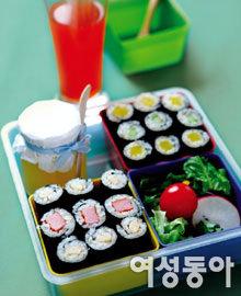 한입에 쏙~ 봄나들이 김밥