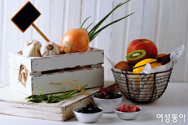 황사 물리치는 건강 요리