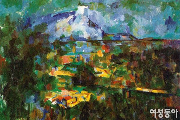 레 로베에서 본 생트빅투아르 산
