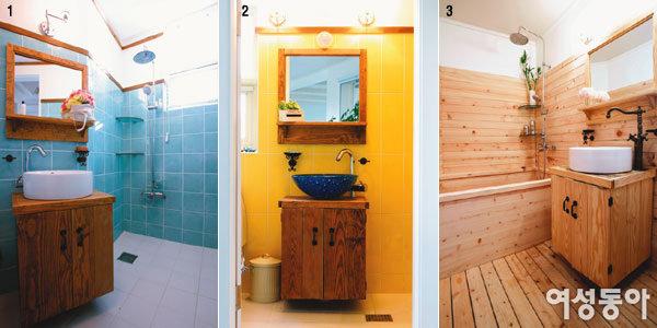 독자 3인이 공개한~ 쾌적한 욕실 꾸밈 아이디어