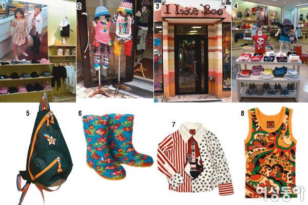 TOKYO의 트렌디 키즈 웨어 숍