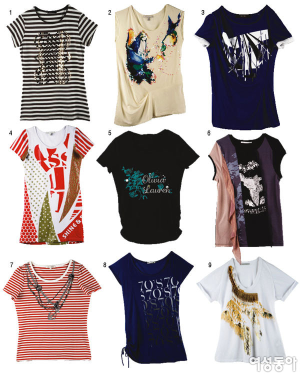 Summer T-shirts 30