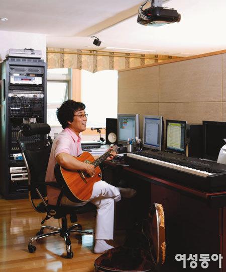 가수 이용의 뮤직 하우스