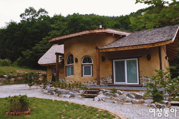 친환경 코브 하우스