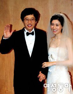 2년 열애 끝에 결혼식 올린유재석·나경은 웨딩 & 신혼스토리