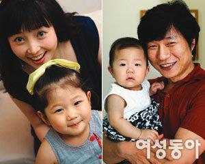 지난해 둘째 딸 얻고 더 행복해진~ 이윤성·홍지호 부부