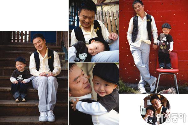 세 살배기 아들 키우며 웃음꽃 피우는 김태균·이지영 부부