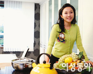 드라마 '엄마가 뿔났다'에서 씩씩한 며느리로 인기!  김나운