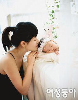 딸 백일 맞아 일본에서 일시 귀국한 정선경 결혼생활 첫 공개