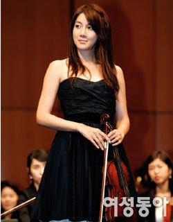 바이올리니스트로 변신한 '수지니' 이지아