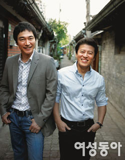 마흔 넘어 더 매력 있는 두 남자, 정보석·권해효