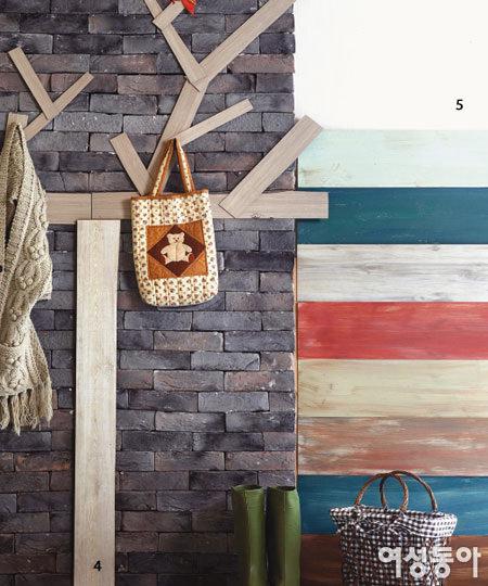 천덕꾸러기 남은 벽지 & 바닥재의 7가지 변신