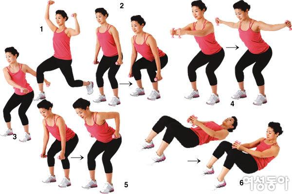 처녀적 몸매 되돌려주는 소도구 운동