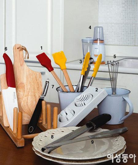 요리전문가 8인이 꽁꽁 숨겨두고 사용하는 만능 조리도구 15