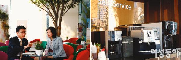 세련된 카페 분위기, 맞춤형 자산관리서비스로 주목받는 현대증권 부띠크모나코지점