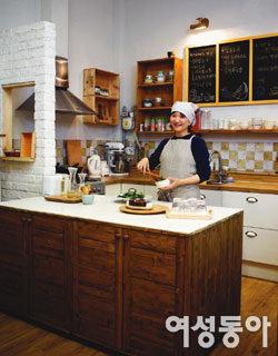 요리전문가의 스타일리시한 스튜디오