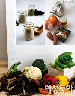 환경 보호하고 건강해지는 먹을거리 & 입을거리
