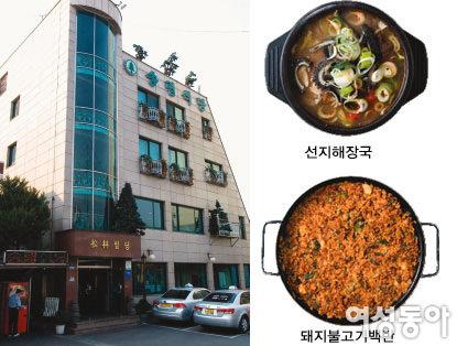 싸고 맛있는 기사식당 Best 8