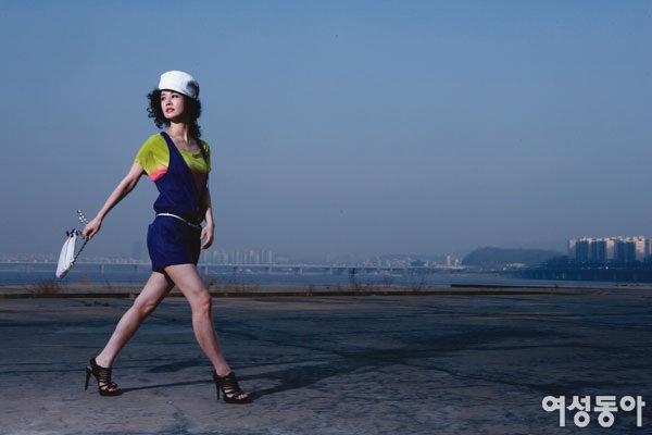 탤런트 김가연 80년대 패션을 만나다
