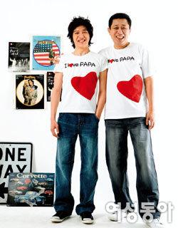 PAUL&LOUIS  父子 사랑 캠페인