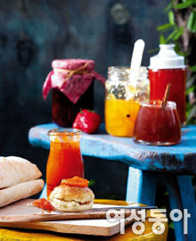 물오른 과일 & 채소로 만든 저장 요리