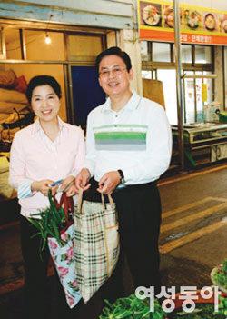 충북도지사 정우택 이옥배 부부
