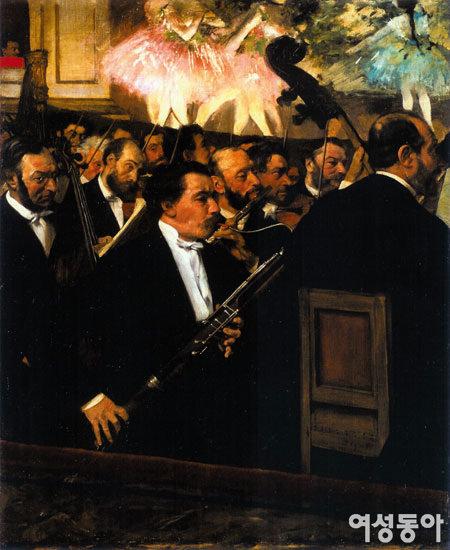 오페라극장의 관현악단