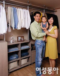 여유 있는 아침 선사해준 드레스룸