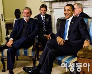 오바마 인기 제친  브라질 '서민 대통령' 룰라 리더십