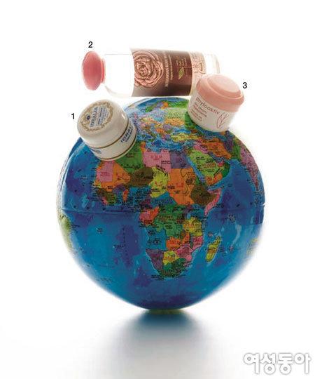 지구 반대편에서 온 화장품이 궁금하다