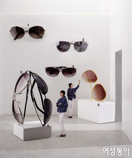 Enjoying the Sunglass Exhibit