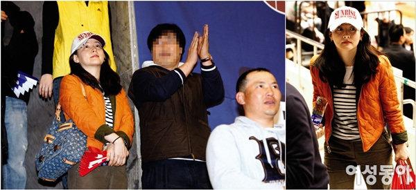 남편과 농구장 데이트~ '신혼'이영애 특별한 외출