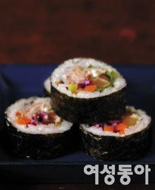 우리 가족 꽃놀이 가는 날, 김밥