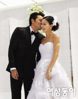 장동건 고소영 Special Wedding