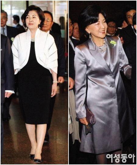 홍라희 이부진 이서현… 삼성가 여인들 패션 코드