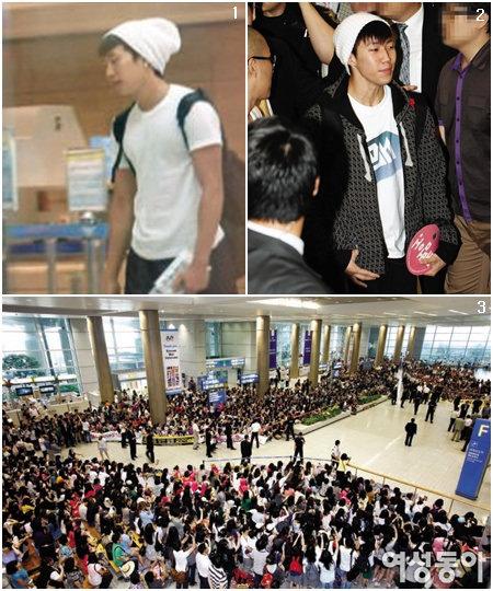 2PM 전 리더 박재범 9개월 만에 한국 돌아오다