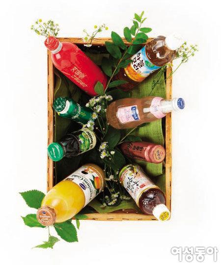 요리연구가의 냉장고 속 여름 음료는?