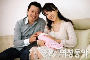 첫 아들 낳은 김혜영·김성태 부부, 바다 같은 사랑 품다