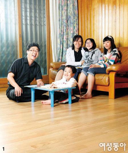 가족 3대에게 행복 전한 친환경 바닥재