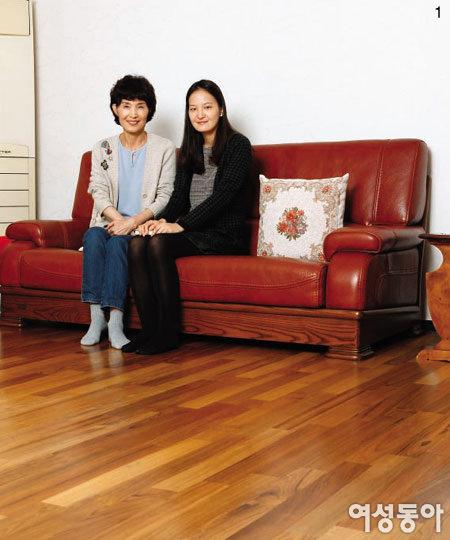 집 안 분위기 바꿔준 친환경 바닥재