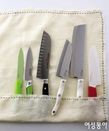 요리전문가의 비밀 병기, 칼