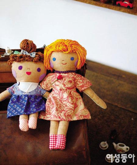 오늘은 두 딸과 인형 만드는 날