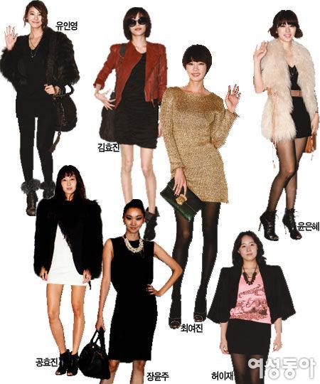 대한민국 대표 여배우 스타일 뒷담화