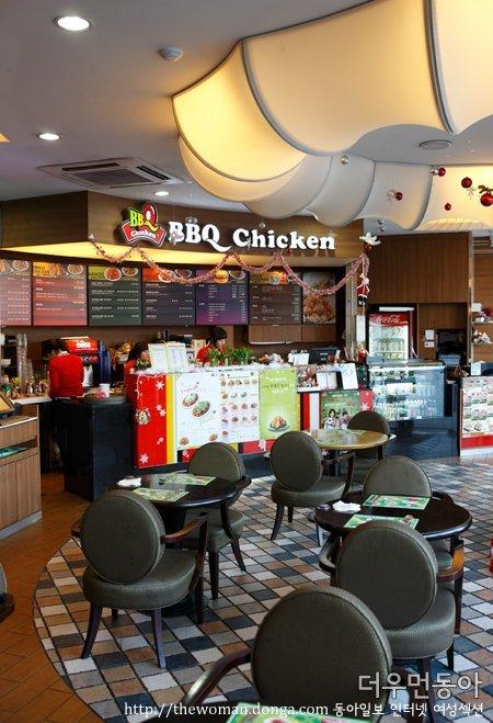 가장 맛있는 치킨이 있는 BBQ 카페에 가다