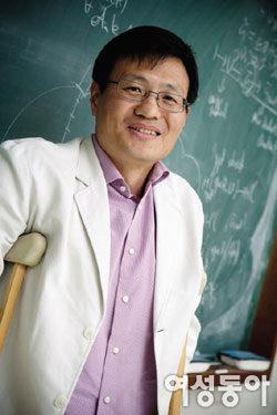 고등과학원 김인강 교수가 몸으로 증명한 '기쁨공식'