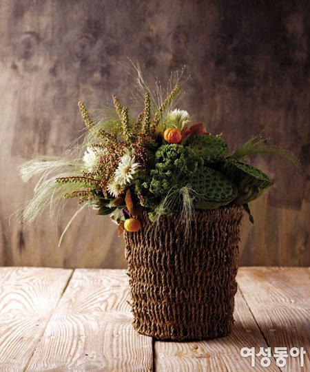 꽃 말고 열매 & 잎사귀 스타일링