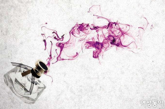 스타일 마무리 향수 한 방울, 여인의 향기
